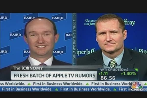 TV Rumors & Apple's Rotten Week