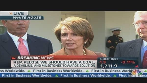 Boehner, Reid & Pelosi on Fiscal Cliff