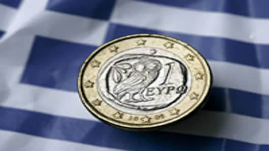 EU-IMF Feud Erupts Over Greek Debt
