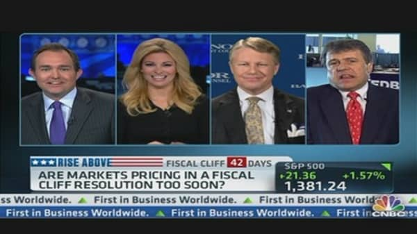 Fiscal Cliff Hopium Rally