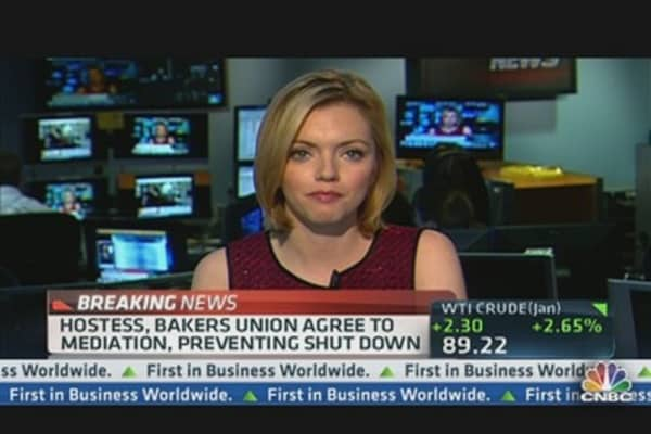 Hostess, Bakers Union Agree to Mediation