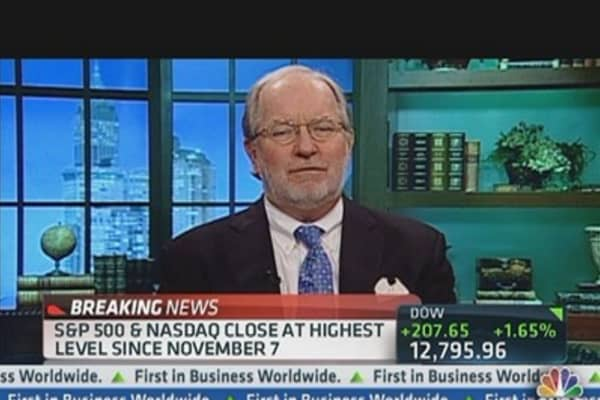 Dennis Gartman: Embrace Equities