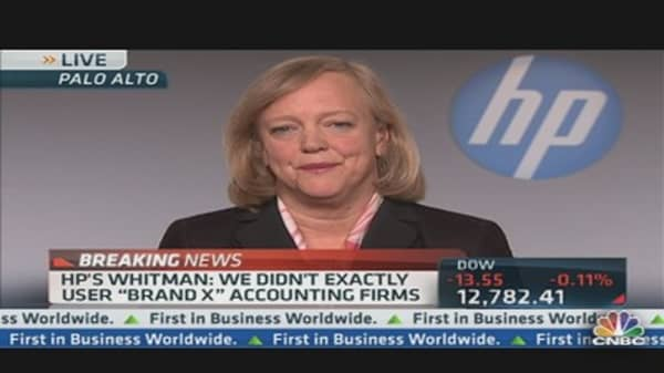 HP¿s Whitman 'Regrets' Voting for Autonomy Deal