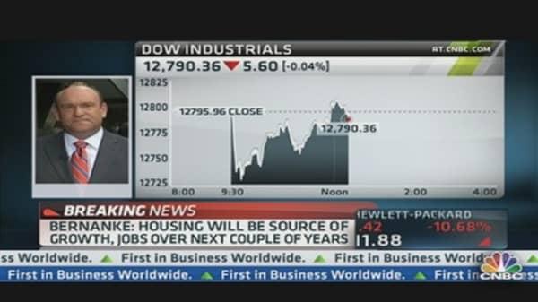 Bernanke Urges Raising Debt Ceiling
