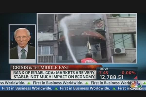 Fischer: Israel's Economy Will Survive The Crisis