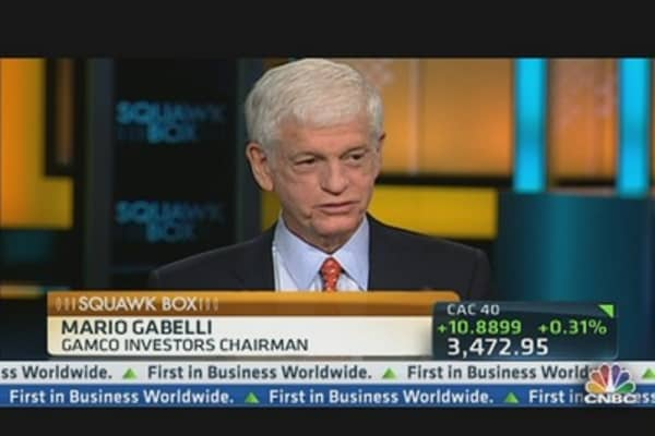 Mario Gabelli Eyes Small Caps