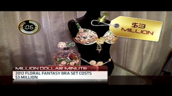 Diamond-Covered Bra Worth $2.5 Million
