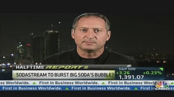 SodaStream to Burst Big Soda's Bubble?