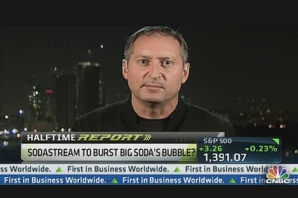 SodaStream to Burst Big Soda's Bubble?