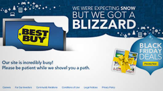 Best Buy Deja Vu? Website Crashes as Shoppers Ramp Up