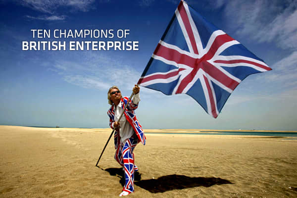 10 Champions of British Enterprise