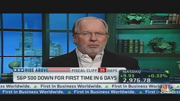 Reasons for Dennis Gartman's 'Fiscal Cliff' Optimism