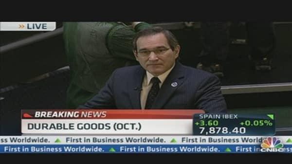October Durable Goods Unchanged