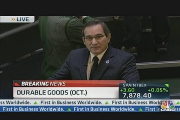 October Durable Goods Unchanged
