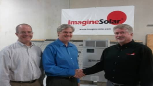 ImagineSolar's New Partnership