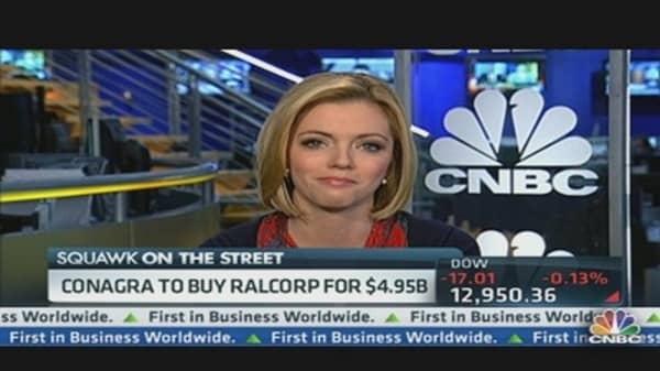 ConAgra Snags Ralcorp for $4.95 Billion