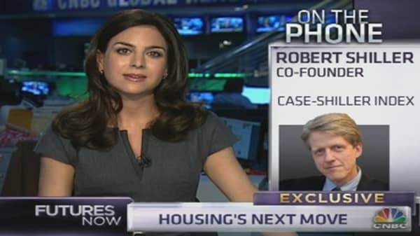 Shiller: 'Fiscal Cliff' Could Cause Shift From Buying to Renting