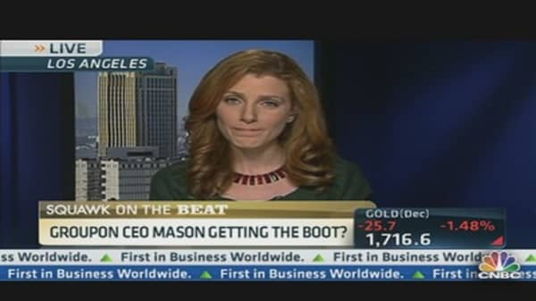 Will Groupon's CEO Get the Boot?