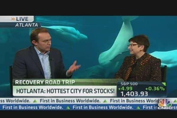 Atlanta: #1 City for Stocks