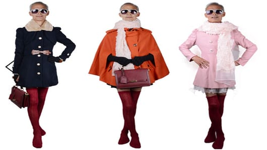 Chinese Grandfather Models Women's Clothes And Becomes Internet Hit