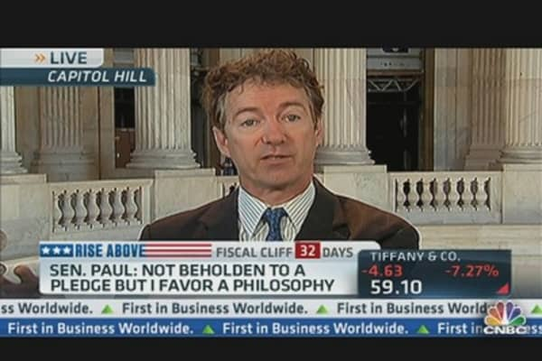 'People Up Here Are Not to Be Trusted With Money': Sen. Rand Paul