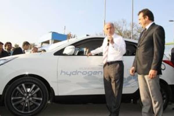 UNIDO-ICHET hydrogen fueling station