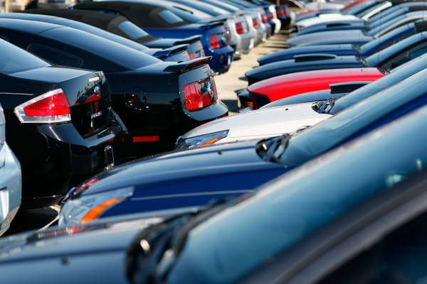 car lot dealership