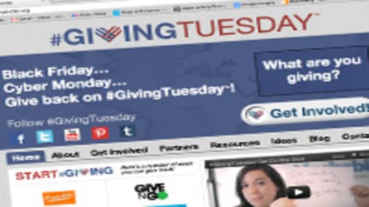 Holiday Spending Frenzy Sparks 'Giving Tuesday'