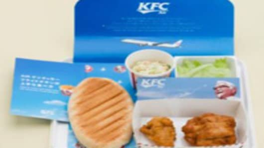 No Sushi for You: Japan Airlines to Serve KFC Meals