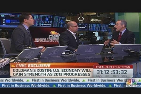 Goldman Sachs 2013 Outlook