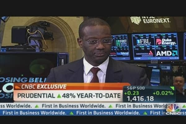 Prudential Returns 42% to Shareholders