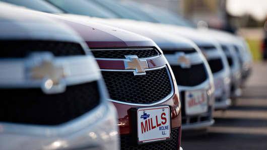 GM Chevrolet Malibu Vehicles