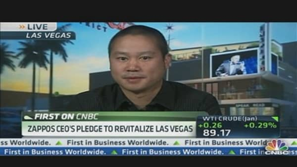 Zappos CEO's Pledge to Revitalize Las Vegas