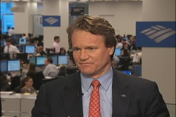 Fiscal Cliff Concerns Hurt Business Spending: BofA CEO