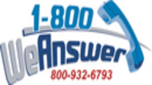 1-800 We Answer Logo