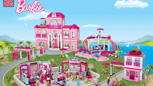 Mega Bloks Barbie Build n Style set
