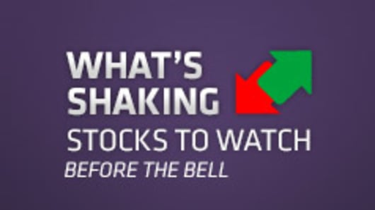 Market Insider | What's Shaking | Stocks to Watch Before the Bell