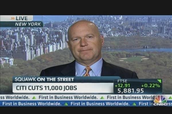 Citi's Massive Layoffs Sends Stock Soaring