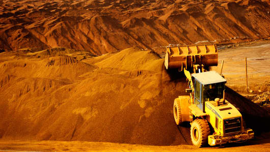 Iron Ore mining China