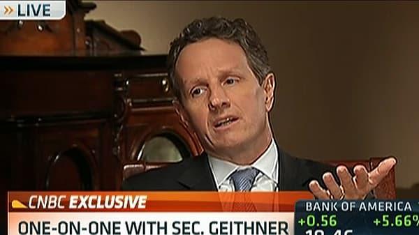 Geithner to CNBC: 'Little Bit of Progress' on 'Cliff'