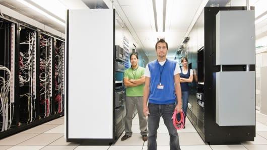 Technicians Server Room