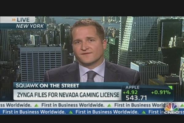 Zynga Places a Bet on Nevada