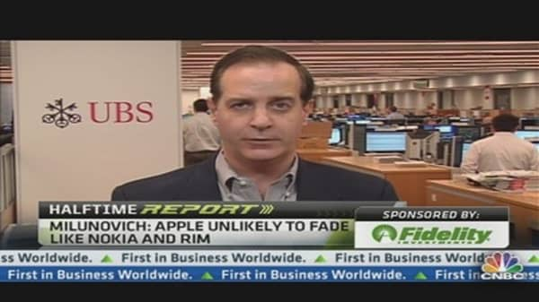 'A Real Conflict' for Apple Stock: Milunovich