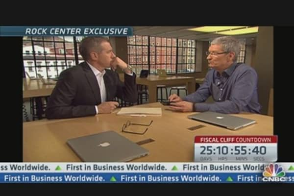 Apple's Tim Cook on U.S. Manufacturing