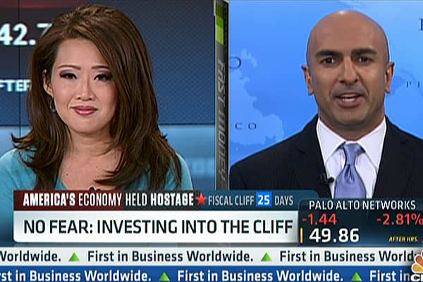 Kashkari Buying Into a 'Fiscal Cliff' Stock