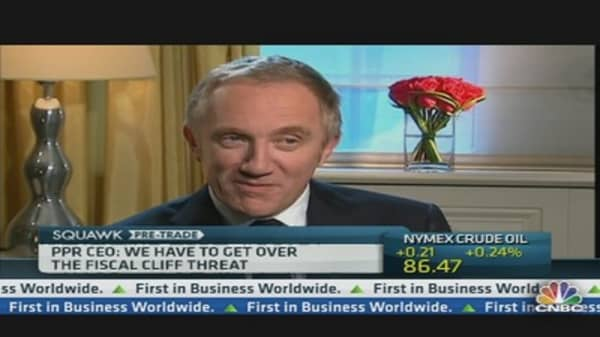France's Fiscal Cliff Is a Mountain: PPR CEO