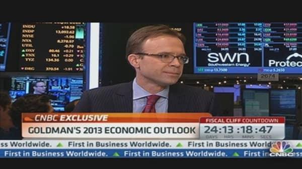 Hatzius: Goldman's 2013 Outlook