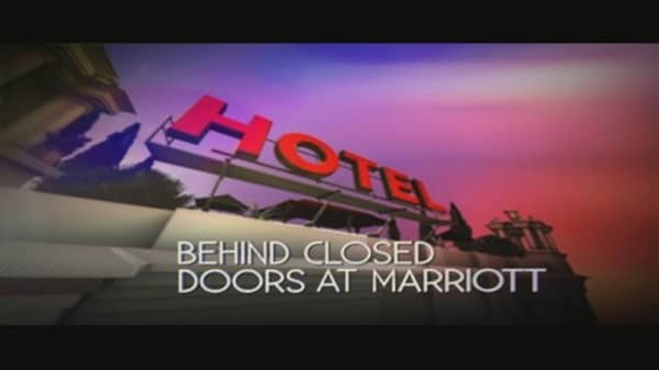 Hotel: Behind Closed Doors at Marriot