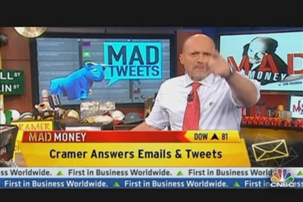 Cramer Answers Your Tweets: MICROS & Xylem