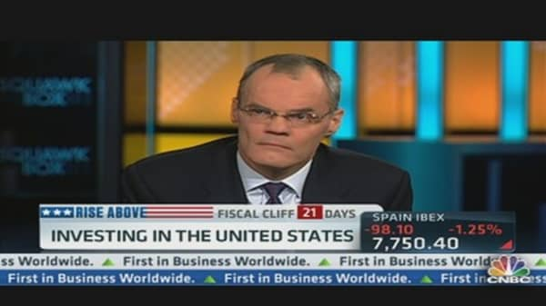 Starwood CEO on Fiscal Cliff Negotiations